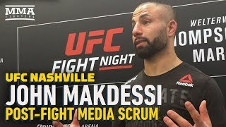 UFC Nashville: John Makdessi Focusing On Reaching 'Title Contention' With New Momentum