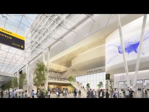 LaGuardia Airport gets a makeover