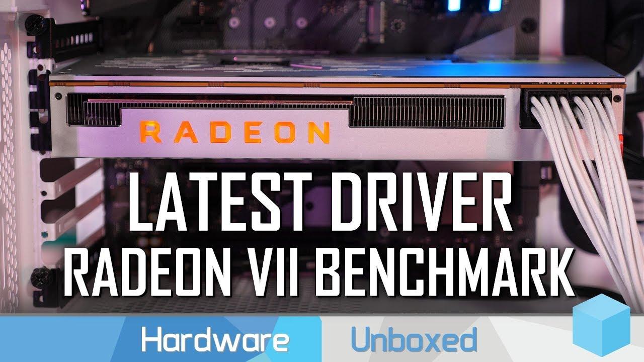 AMD Radeon VII Mega 33 Game Benchmark vs  RTX 2080, GTX 1080 Ti, Vega 64 &  More!