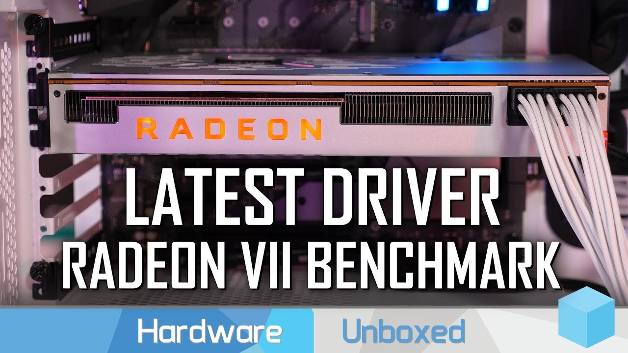 AMD Radeon VII Mega 33 Game Benchmark vs. RTX 2080, GTX 1080 Ti, Vega 64 & More!