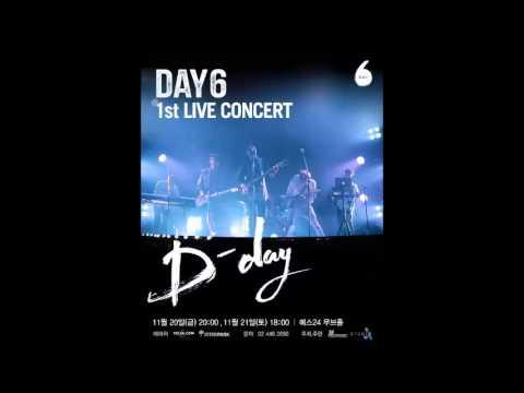 [AUDIO] 151120 데이식스 DAY6 1st LIVE CONCERT 디데이!
