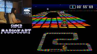 "Super Mario Kart - Rainbow Road - 1'42""57 by meauxdal"