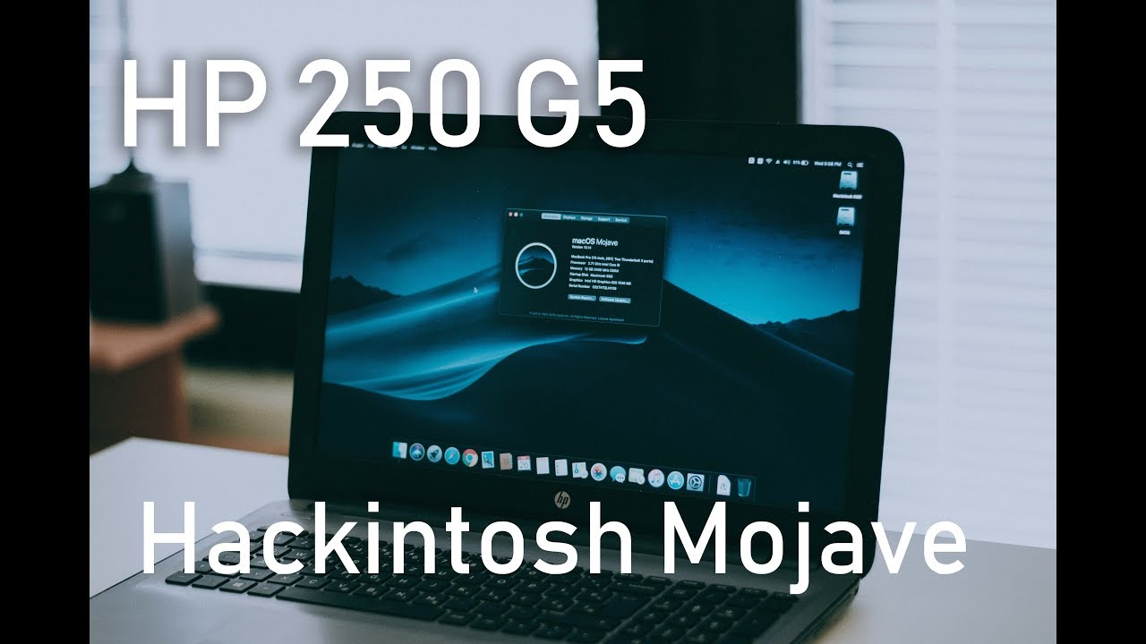 HP 250 G5 Kaby Lake MacOS mojave - Hackintosh