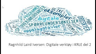 Digitale verktøy i KRLE del 2