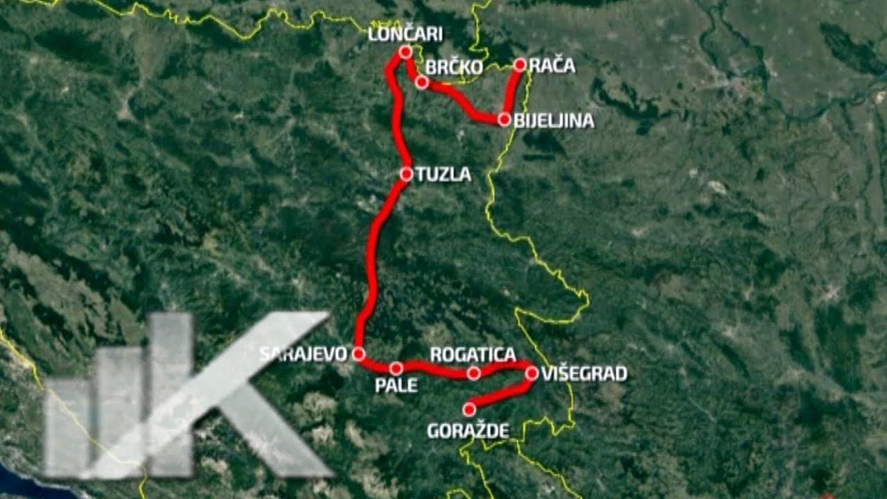Dogovorena Ruta Autoputa Sarajevo Beograd Youtube