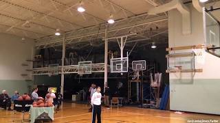WORLD RECORD: He made 31 straight NBA threes in 1 minute!