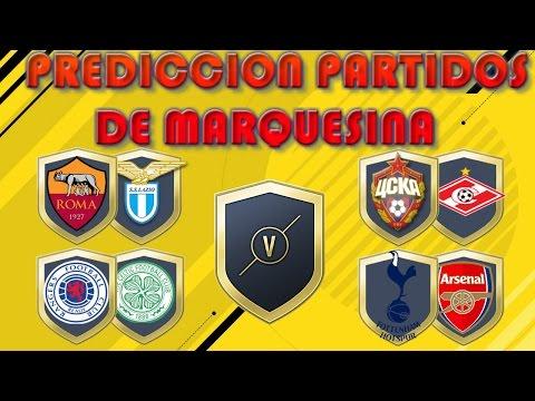 FIFA 17   PREDICCIONES DE PARTIDOS DE MARQUESINA #32