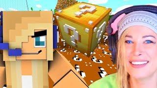 Minecraft LUCKY BLOCK BRAWL #1! PSYCHO GIRL Plays Lucky Block Brawl (Minecraft Gameplay)