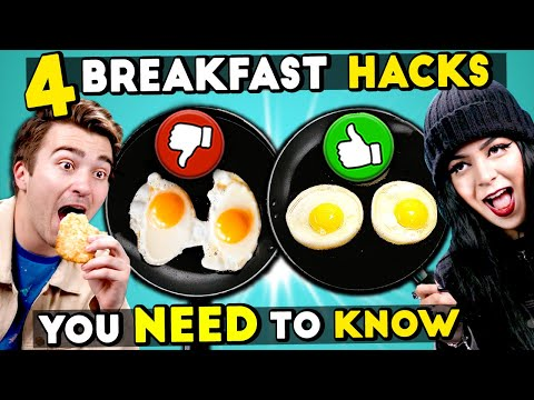 4 Breakfast Hacks You Need To Know
