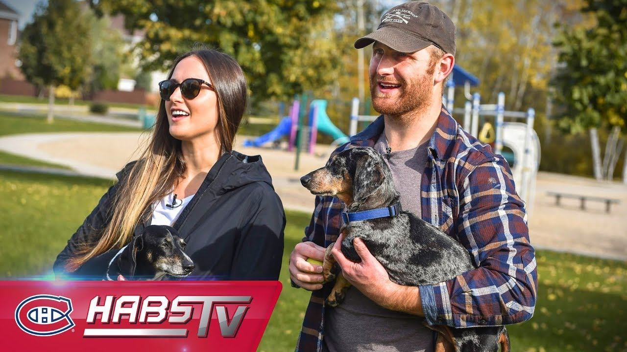 d91b22d1b Karl Alzner and his wiener dogs Murphy and Charlie - YouTube