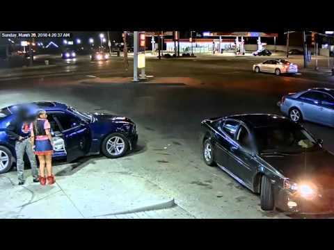 Woman using underwear as holster opens fire in Detroit gas station parking lot