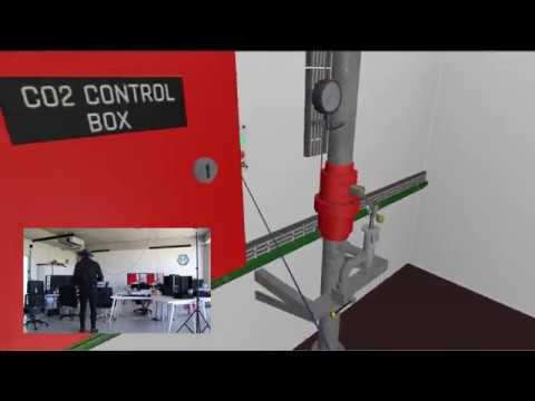 VR - ONBOARD CO2 FIXED FIRE-FIGHTING SYSTEM TRAINING WITH VIRTUAL REALITY