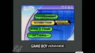 Virtua Tennis Game Boy Gameplay