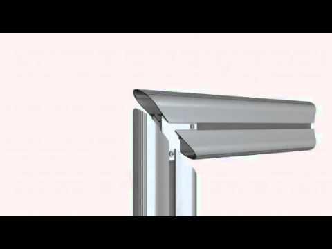 aluminiumprofil alu flex montageanleitung youtube. Black Bedroom Furniture Sets. Home Design Ideas