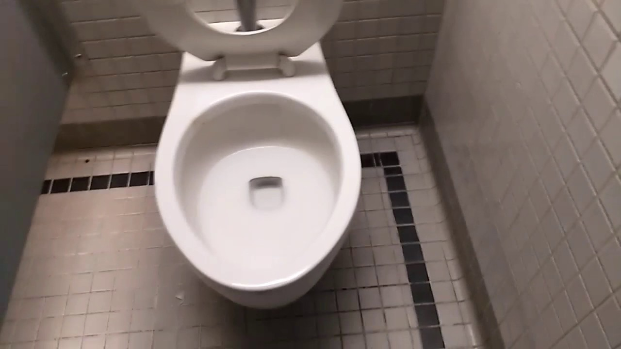US TOILET = «Wallhung CRANE PLUMBING Bowl on flushometer» - YouTube
