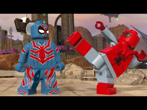 LEGO Marvel Super Heroes 2 - Xandar 100% Guide (All Collectibles)