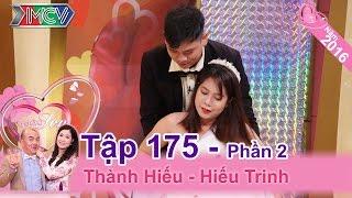 """MC Quốc Thuận mon men """"đốt nhà"""" đôi vợ chồng trẻ ngây thơ   Thành Hiếu - Hiếu Trinh   VCS 175"""