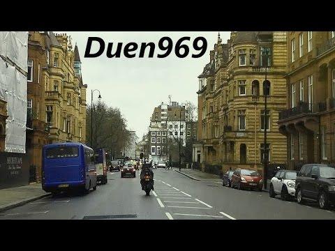 London Streets (511.) - Shepherd´s Bush - Kensington - Pimlico - Lambeth