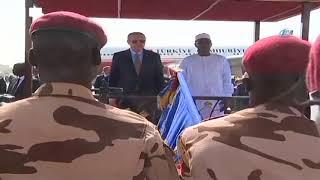 Cumhurbaşkanı Erdoğan, Çad'da