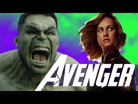 Captain Marvel vs World Breaker Hulk Avengers 4 - Avengers Infinity War