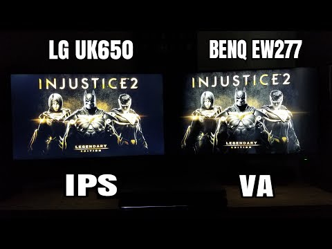 LG IPS vs BenQ VA Panels which one is the best for you.!?