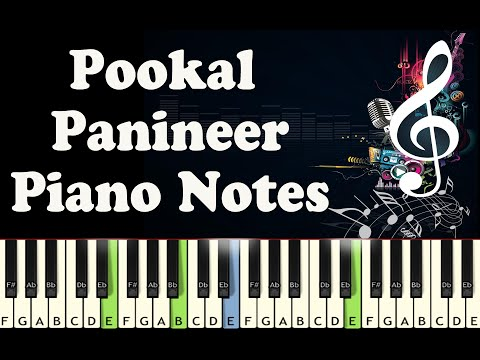 Pookal Panineer - Full Piano Notes