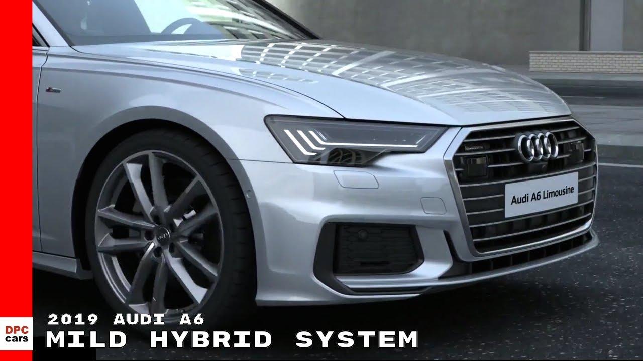 Audi A V Mild Hybrid System YouTube - Audi hybrid cars