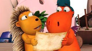 Мультфильмы для детей - Кокоша, Маленький Дракон - Доставка Кокоши - Мультик 23