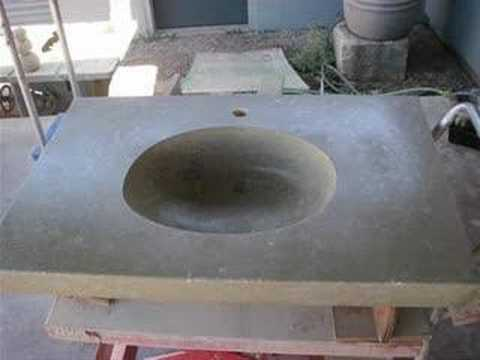 how to make a concrete kitchen sink use a mold to create a custom concrete sink www 9476