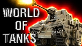 LEGO WORLD OF TANKS - WW2 BATTLE OF KURSK