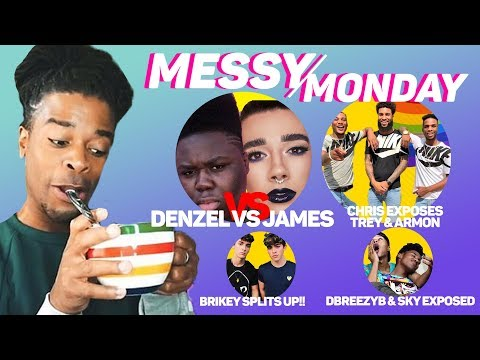 DRAMA ALERT ! ! ! CHRIS EXPOSES AR'MON & TREY, ELIJAH FIGHTS BRENNEN TAYLOR & MORE | MESSY MONDAY