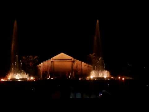 Indira Gandhi Musical Fountain, Bangalore.