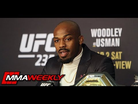 Jon Jones Compares Himself to Randy Couture  (UFC 235)