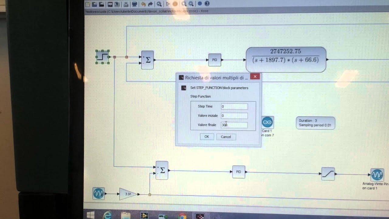 arduino scilab/xcos pid control   #634830