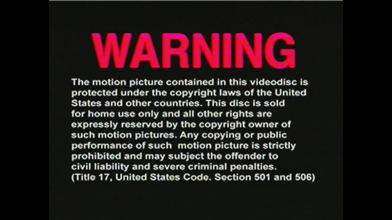 fbi copyright warnings! youtube  fbi copyright warnings!