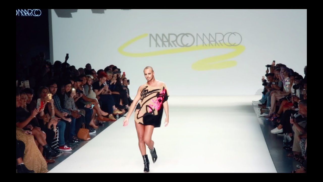 YANIS MARSHALL OPENING FOR MARCO MARCO. NEW YORK FASHION WEEK - YouTube