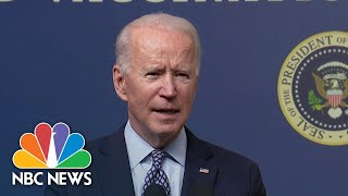Engel: Biden Sending Message To Iran With Airstrikes Against Militia Group | NBC News