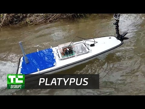 Platypus makes autonomous boats to survey bodies of water