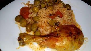 Gambar cover روز فالكوشةبالدجاج  والزيتون مجمر  على طريقتي  لذيذ وسهل لشهر رمضان من  مطبخ أحلام