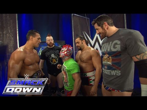 Kalisto suffers the wrath of The League of Nations: SmackDown, Jan. 21, 2016