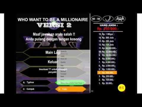 Cara menang di game MILIONER INDONESIA