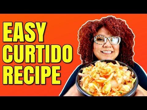 Curtido Recipe / How to Make Curtido for Pupusas