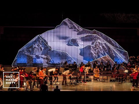 How to Make a Mountain  Scenography Project for Casa da Música