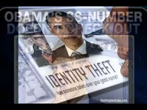 Obama Lawsuit In Ohio Over His Fraudulent SSN