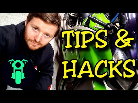 Best Motorcycle Camping Tips & Hacks 2019