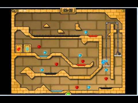 Fireboy And Watergirl 2 In Light Temple Cool Math Level 17