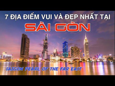 DU LỊCH SÀI GÒN Ngày và Đêm - Hòn Ngọc Viễn Đông. 7 Most Beautiful and Fun Places in Saigon Vietnam.