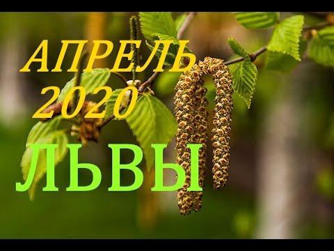 ЛЬВЫ. АПРЕЛЬ 2020 г. ПРОГНОЗ. САМОЕ ВАЖНОЕ ДЛЯ ВАС !!!