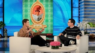 Adam Devine's Mom Thinks She's Close Friends with Ellen