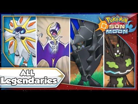 Pokemon Sun and Moon - ALL LEGENDARY POKEMON, TAPU, & ULTRA BEAST Locations! [SM Tips & Tricks]